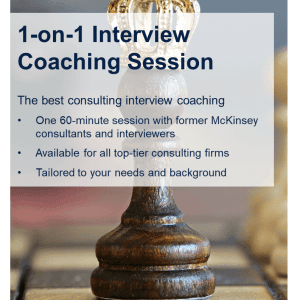 consulting case coaching