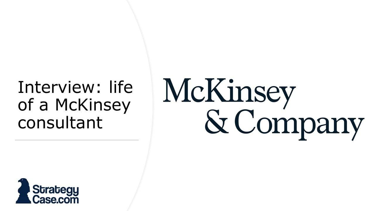The image is the cover for the article of the interview with a McKinsey consultant