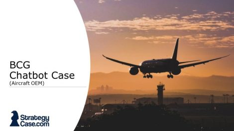 the image is the cover of the bcg casey online case assessment mock test
